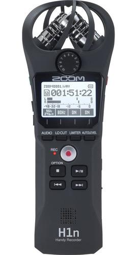 Grabador Digital Zoom H1n Handy Recorder Portátil - Cuotas !