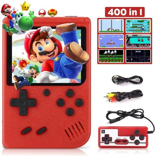 Mini Consola Portatil Game Box 400 Videojuegos