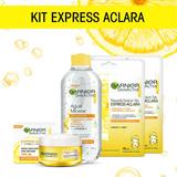 Kit Garnier Express Aclara:crema, Agua Micelar, 2 Mascarilla