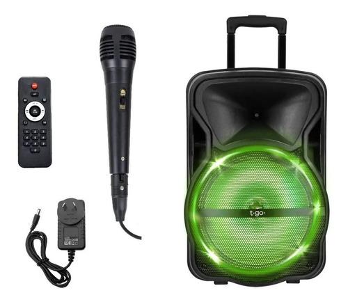 Parlante Karaoke Bluetooth 12 Pulgadas Radio Fm Micrófono