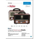 Radio Portable Mh100 North Tech Retro