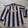 Camisa Udinese Mangas Longas De Jogo Da Italia 2001-2002 Original