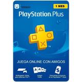 Playstation Plus 1 Mes Psn Ps4 Y Ps5 Entre Inmediata