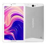 Tablet  Con Funda Gadnic Phone Tab0038c 7  32gb Blanca Con Memoria Ram 2gb Y Conexión A Celular