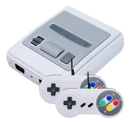 Mini Consola Retro Para Tv Supermini 620 Juegos Con 2 Mandos