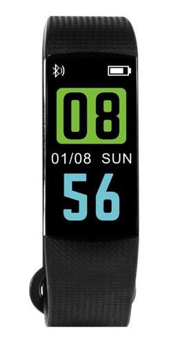 Smartband Tedge Smartbit Reloj Pulsera Inteligente Negro