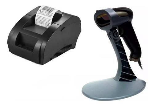 Punto De Venta Pos Impresora 58mm + Lector Sat 101 Con Base