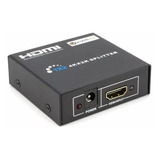 Divisor 1x2 Hdmi Splitter 1080p 3d Full Hd
