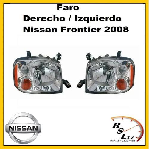Faro Derecho / Izquierdo Nissan Frontier 2008 nissan FRONTIER