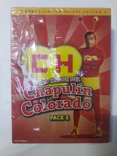 3 Dvd  Lo Mejor Chapulin Colorado  18 Episodios Sellado Oka