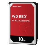 Disco Duro Interno Western Digital Wd Red Wd100efax 10tb Rojo