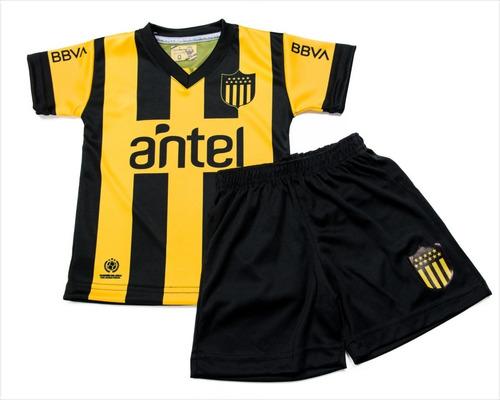 Conjunto Bebe 0/2 Camiseta Y Short Club Atlético Peñarol