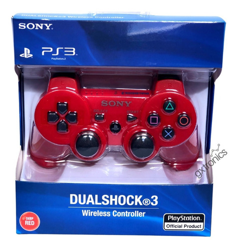 Joystick Inalámbrico Sony Dualshock 3 Black Wireless Ps3