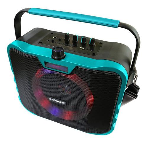 Parlante Portátil Panacom Bluetooth Aux Micrófono Sp-3080wm