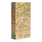 Cepillo De Dientes De Bambú Biodegradable Meraki Caja X 12 U