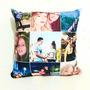 Almofada Personalizada Com Fotos Frase Super Macia Presente Original