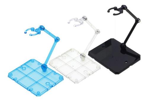 Base Stand Transparente Para Figuras De Acción Paquete De 3