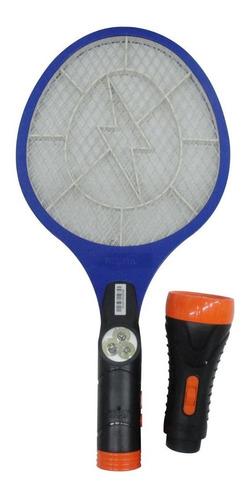 Raqueta Paleta Mata Moscas Mosquitos Electrica Recargable