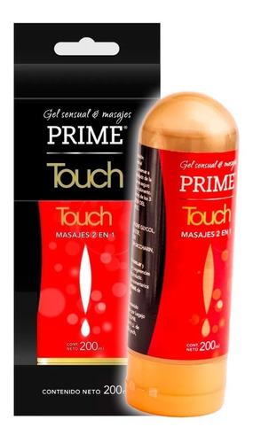 Gel Intimo Lubricante Prime Touch X 200ml - Masajes 2 En 1