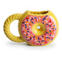 Caneca Donuts Rosquinha Decorada Cerâmica 400  Original