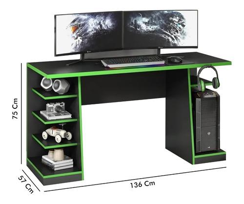Escritorio Mesa Pc Gamer  Laptop Estantes Oficina Oferta