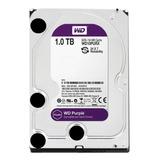 Disco Rígido Interno Western Digital Wd Purple Wd10purx 1tb Roxo