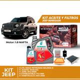 Cambio Aceite Kit De Filtros + 5l 5w40 Petronas - Renegade