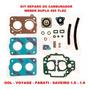 Kit Reparo Carburador Gol/voyage/parat Weber Duplo 495 Tldz Original