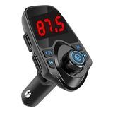 Transmisor Radio Fm Bluetooth Dual Usb Mp3 Cargador Auto