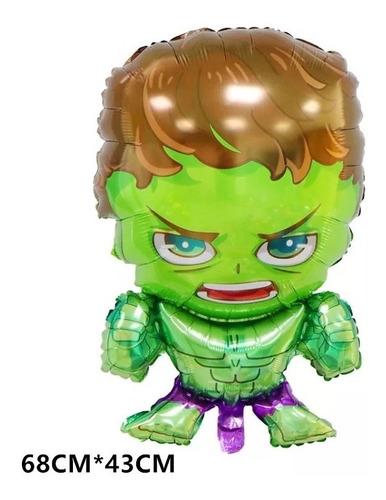 1 Globo Hulk Apto Aire O Helio