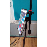 Stand Para Tablet O iPad En Atril De Micrófono