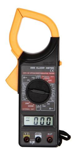 Pinza Amperométrica Digital 1000 Amp Con Estuche T266