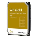 Disco Duro Interno Western Digital Wd Gold Wd6003fryz 6tb Oro