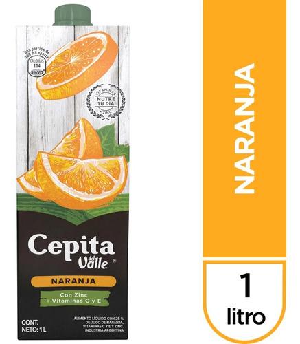 Jugo Cepita Del Valle Naranja Con Vitaminas - 01mercado