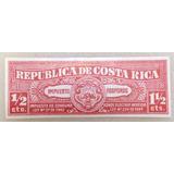Timbre Fiscal Antiguo De Costa Rica Impuesto Fósforos Jmg