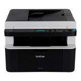 Impresora Multifunción Brother Dcp-1 Series Dcp-1617nw Con Wifi 220v - 240v Negra