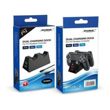 Carregador Controle Ps4 Base Duplo Charge Para Playstation 4