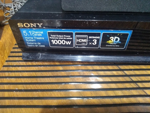 Home Teather Sony 5.1 S-master Hdmi Dolby 10.000w Mod Ss380