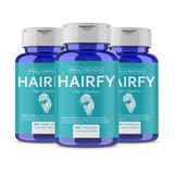 Hairfy - Vitaminas Anti Caída Cabello Pelo - Biotina X180
