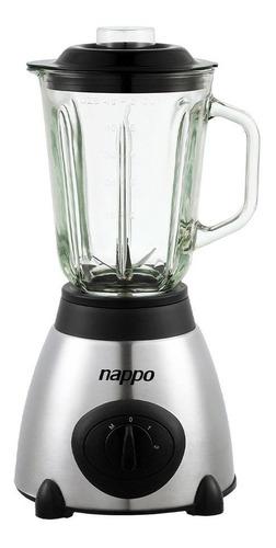 Licuadora Nappo 600w Acero Inox Jarra Vidrio 1.5l Loi