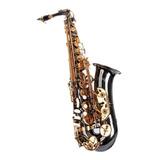 Saxofone Alto Negro Fontai Ft6430bn Garantia / Abregoaudio