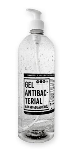 Gel Antibacterial Con Dosificador 1 Litro Con 70% Alcohol