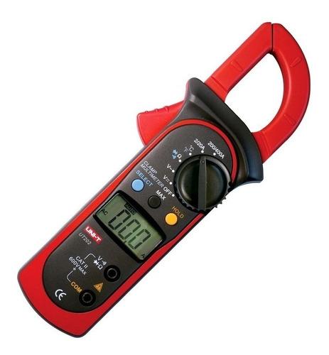 Pinza Amperimétrica Digital Uni-t Ut202 400a