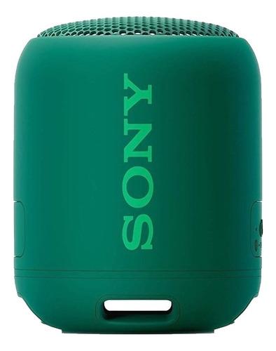 Parlante Sony Extra Bass Xb12 Portátil Con Bluetooth Verde