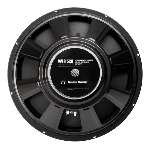 Parlante 15 Audiosonic Wh1528 300w 8 Ohms Bobina 2 Cjf