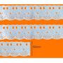 Bordado Inglês Ctl 72 - Peça Com 13,7m - Várias Cores Original