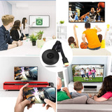 Reproduce Tu Celular En El Tv. Tv Dongle Lw77 Full Hd Hdm