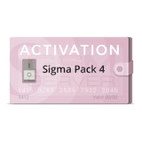 Activacion Pack 4 Sigma Box /sigma Key