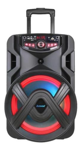 Caixa De Som Bluetooth Amplificada Amvox Aca401 Tsunami 400w