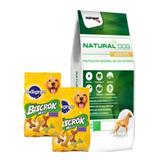 Natural Dog Adulto 22kg + 4 Paté + Envío Gratis Todo Uruguay